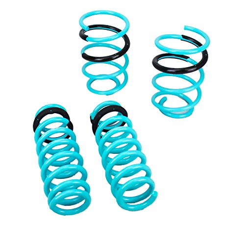 Godspeed LS-TS-BW-0002 Traction-S Performance Lowering Springs, Set of 4, BMW 3-Series 2006-2011(E90) RWD Models - Lowering Series Spring
