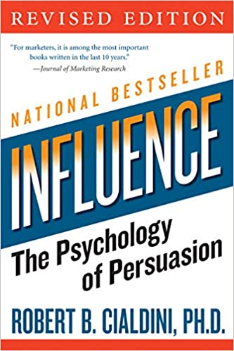 Cover of Influence book by Robert Cialdini