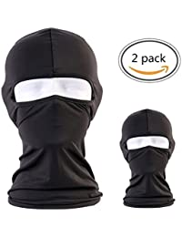 Balaclava - Windproof Ski Mask Adjustable Face Head Warmer for Skiing,Bike,Cycling,Hiking,Motorcycle Outdoor Sports (2 pack)