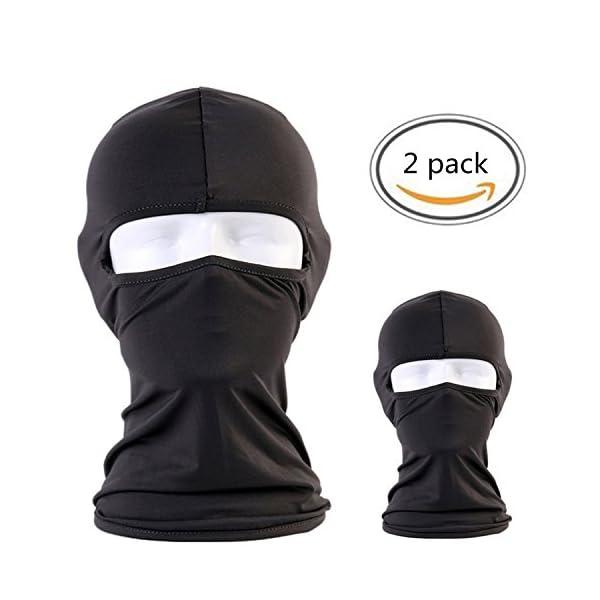 a690fb0cac0 BCOCOB Balaclava – Windproof Ski Mask Adjustable Face Head Warmer for  Skiing