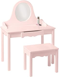 product image for Rectangular Kid's Table (Soft Pink)