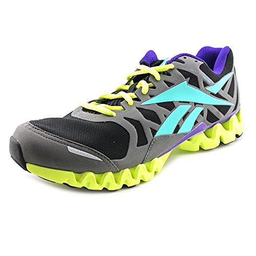 Reebok Zigtech 3.0 Ex Womens Size 6 Gray Mesh Sneakers Shoes