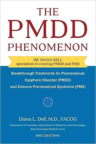 THE PMDD PHENOMENON PDF