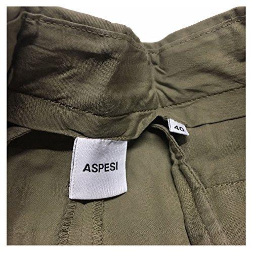 ASPESI bermuda donna kaki mod H206 E031 100% cotone