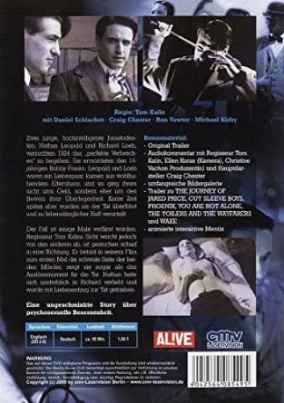 Swoon (OmU) [Alemania] [DVD]: Amazon.es