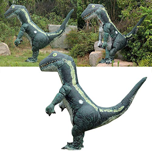 (HsgbvictS Pretend Play Child Toys Funny Adult Dinosaur Inflatable Costume Blowup Halloween Party Cosplay)