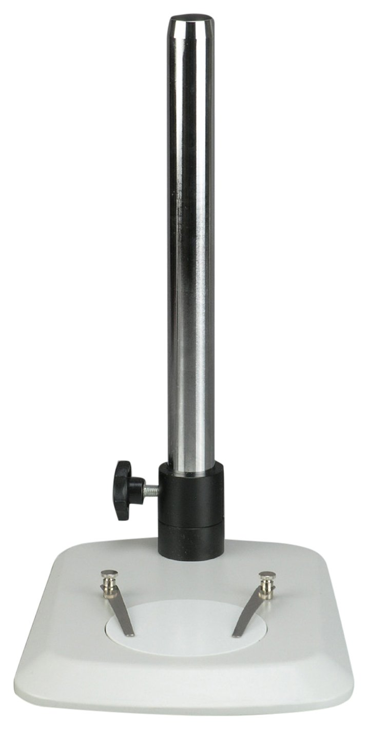 AmScope TS110L-FR Microscope Table Stand with Butterfly Base, Long Post and Focusing Rack by AmScope