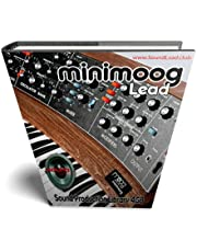 MINIMOOG LEAD - The King of Analog Sounds - Large unique original 24bit WAVE/Kontakt Multi-Layer Samples/Loops Library. FREE USA Continental Shipping on DVD or download;