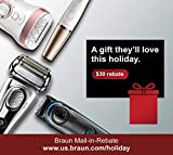 Braun Electric Shaver, Series 7 790cc Mens Electric Foil Shaver/Electric Razor, with Clean & Charge Station, Cordless