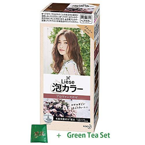Liese Kao Bubble Hair Color Prettia 2018 New Color - Provence Rose (Green Tea Set)