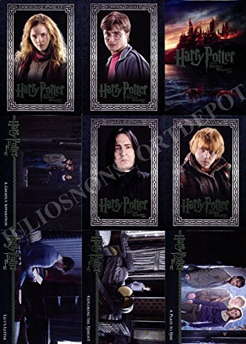 (HARRY POTTER AND THE DEATHLY HALLOWS MOVIE PART 1 2010 ARTBOX COMPLETE BASE CARD SET OF 90)