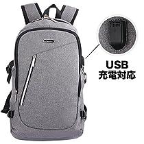 OXA ラップトップバックパック 耐衝撃 防水 USB充電可能 リュック...