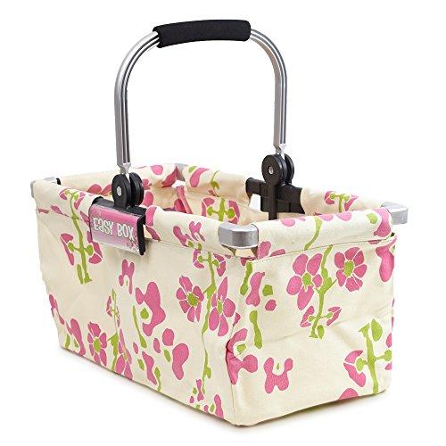 Easy-Box, Einkaufskorb mit Blumenmuster
