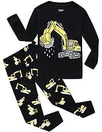 Pijamas de niño pijamas 100% algodón dinosaurio bebé Pjs Kids ropa Pant Set
