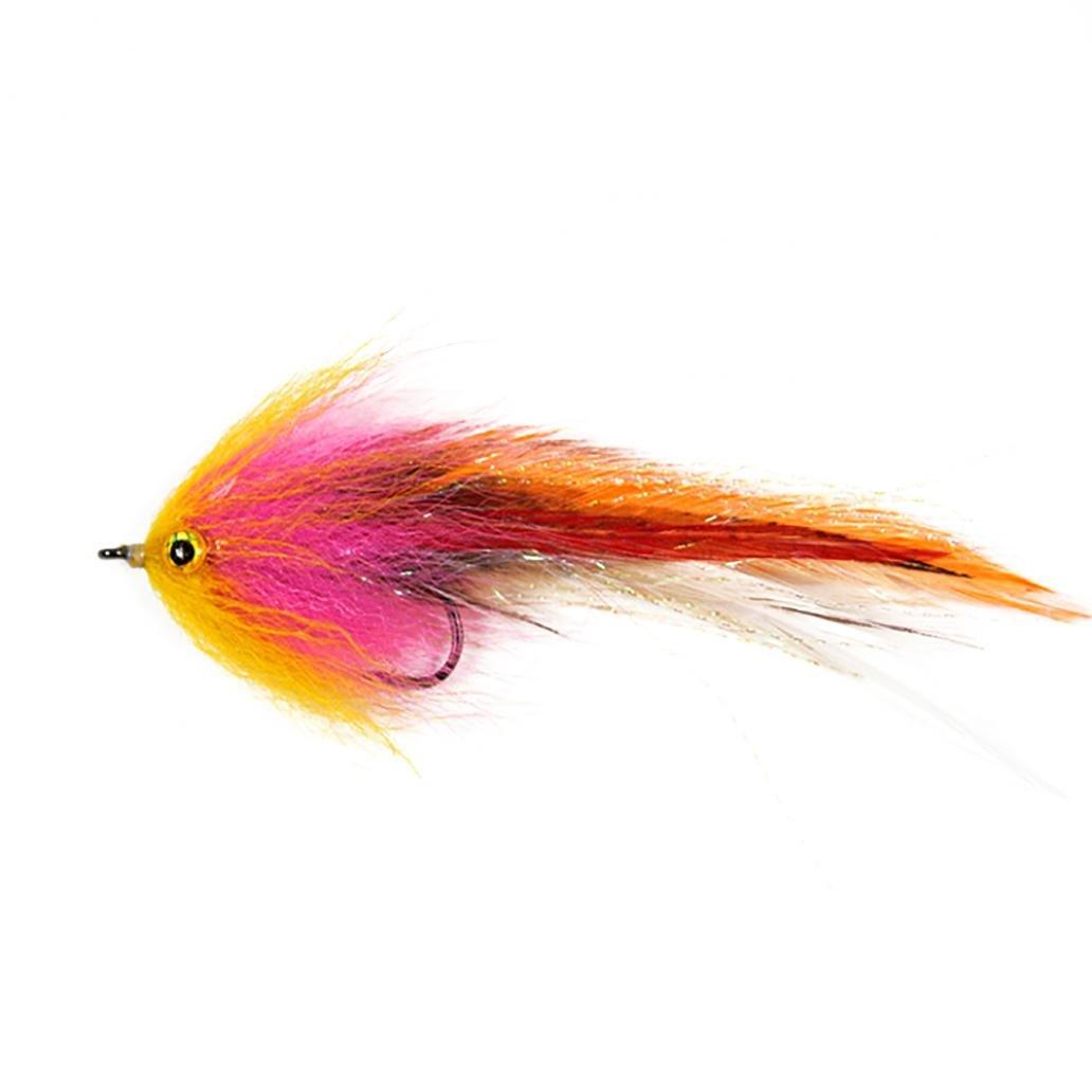 kangql Feder scharfen Haken Forelle Lachs Steelhead Hechtstreamer Fliegenfischen Fliegen Werkzeug