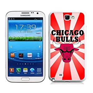 NBA Chicago Bulls Samsung Galaxy Note 2 N7100 2D Phone Case The Newest By zeroCase