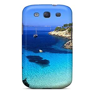 Special FavorCase Skin Case Cover For Galaxy S3, Popular Gorgeous Cove In Ibeza Spain Phone Case