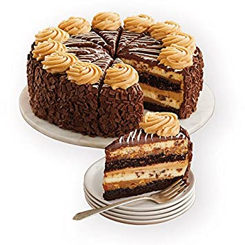 Harry & David The Cheesecake Factory REESES Peanut Butter Chocolate Cake Cheesecake (10 ...