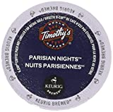 Timothy's World Coffee, Parisian Nights,  K-Cup Portion Pack for Keurig K-Cup Brewers 24-Count (Pack of 2)