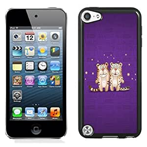 New Personalized Custom Designed For iPod Touch 5th Phone Case For 2 Small Tigers Phone Case Cover