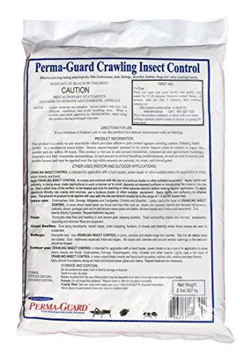 Perma Guard Crawling Insect Control Diatomaceous Earth Powder / 2 Pound Bag by Perma-Guard