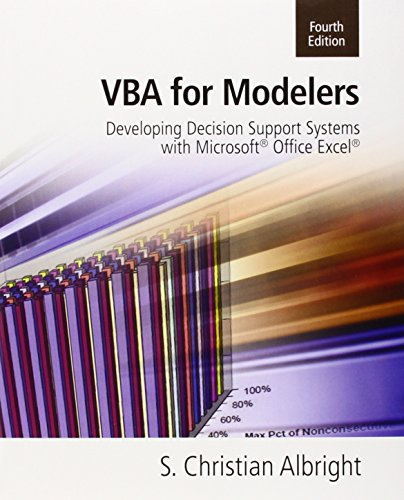 Vba For Modelers
