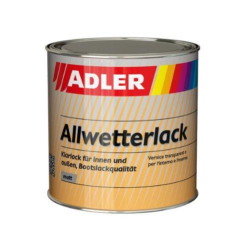 ADLER Allwetterlack Bootslackqualität Matt 375ml - Klarlack für außen