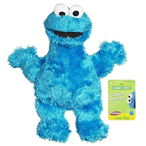 Sesame Street Plush Cookie Monster, 9