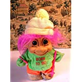 "Troll Collectible SKI DOLL ""Born To Ski"""