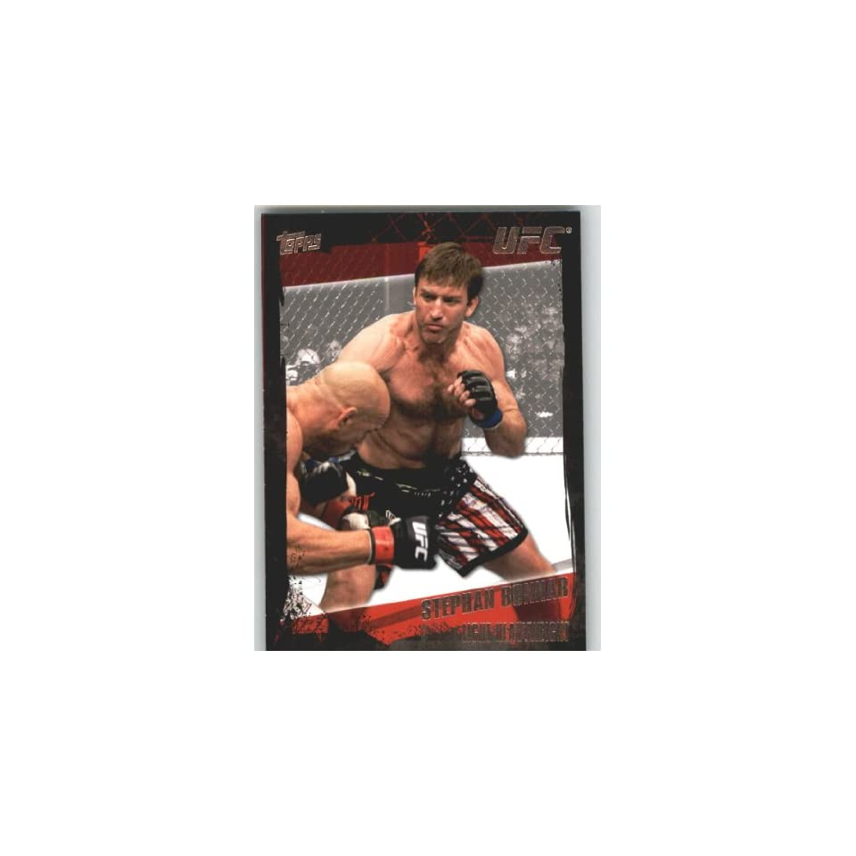 2010 Topps UFC Trading Card # 17 Stephan Bonnar (Ultimate Fighting Championship) Shipped in Screwdown Case