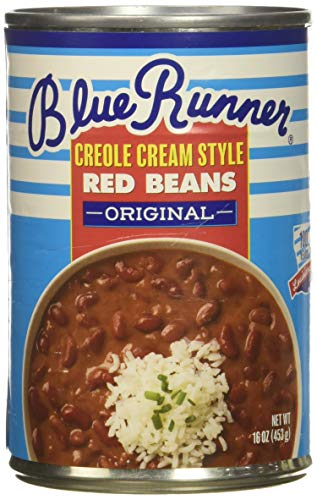 Cajun Small Red Beans - Blue Runner Creole Cream Style Red Beans (Pack of 6)