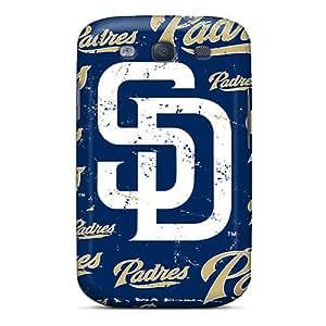Samsung Galaxy S3 Hew1263XHcX Customized Colorful San Diego Padres Image Shock-Absorbing Hard Phone Case -DrawsBriscoe