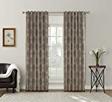 Best Sun Zero Home Black Out Curtains - Sun Zero Sagan Damask Blackout Lined Back Tab Review