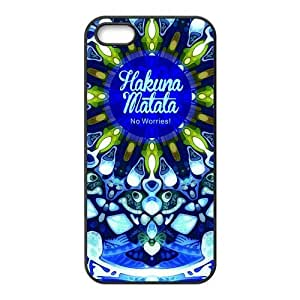 Dpoly iphone 5 case Hakuna Matata Diy Design For iPhone 5/5s Hard Back Cover Case 243iphone 5 case for teen girls clear case