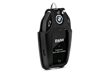 BMW Genuine Montblanc para llave del coche funda soporte ...
