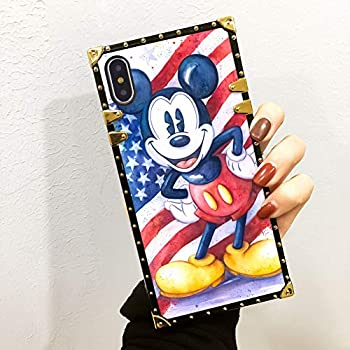 Amazon.com: DISNEY COLLECTION American Flag Mickey Case for ...