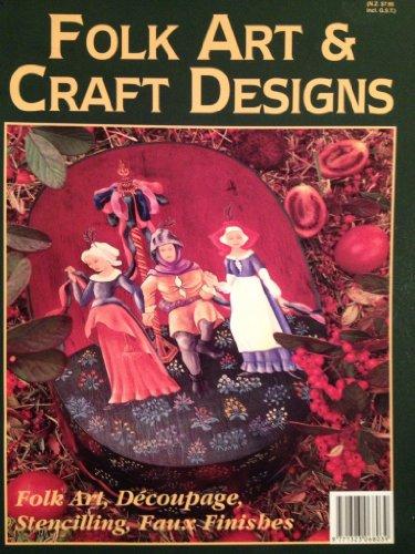 Folk Art & Craft Designs - Folk Art, Decoupage, Stenciling, Faux Finishes