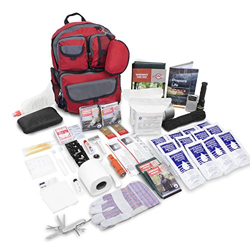 Family Prep Survival Kit, 2 Person and 4 Person Available, Emergency Zone Brand (2 Person)