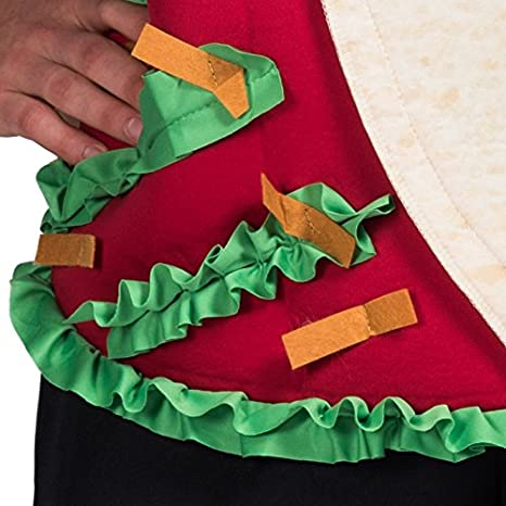Amazon.com: FantastCostumes Disfraz de Taco para hombre ...