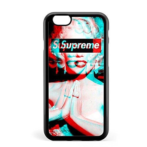 解決文明化ヒール大人気 「Marilyn Monroe/マリリン?モンロー/15」iPhoneケース (iPhone6/6s, ブラック)