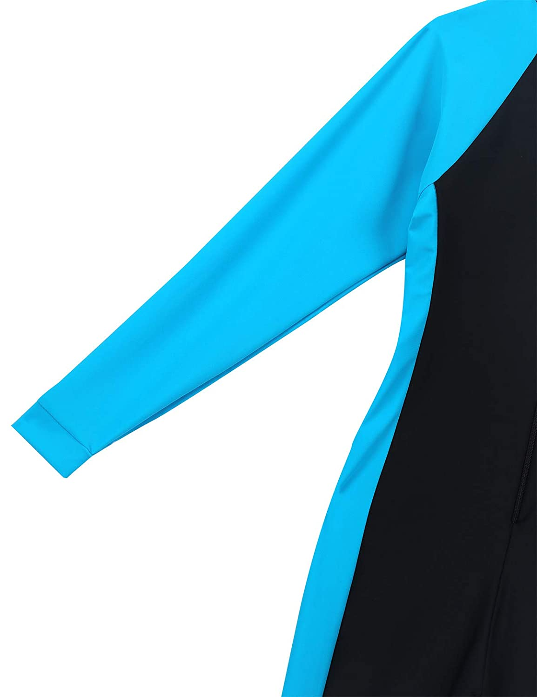 inlzdz Child Boys Girls Full Body Rash Guard Swimsuit Long Sleeves Sunsuit Swimwear Anti UV Swimming Costume