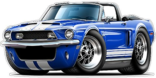 Convertible Shelby - Ford Mustang Garage Decor 1968 Shelby GT500 Convertible Large 22