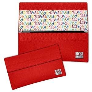 SIMON PIKE Cáscara Funda de móvil NewYork 12 rojo Sony Xperia ZR Fieltro de lana