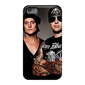 Excellent Hard Phone Cases For Iphone 6 With Allow Personal Design Colorful Avenged Sevenfold Pattern MansourMurray
