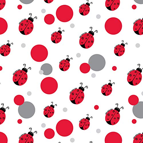 Ladybug Wrap Gift - GRAPHICS & MORE Alpha Sigma Alpha Ladybug Icon Sorority Officially Licensed Premium Gift Wrap Wrapping Paper Roll