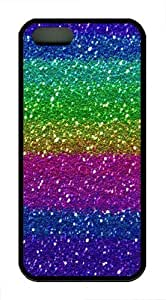Cool Colorful TPU Case Cover for iPhone 5 and iPhone 5s Black