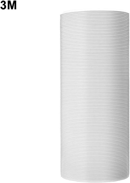 Bbl345dLlo - Tubo Flexible para Tubo de Escape, 1,5 m, 2 m, 3 m, 13 cm de diámetro, extensión para Aire Acondicionado portátil, reemplazo Universal, Campana extractora: Amazon.es: Juguetes y juegos