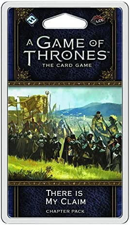 Fantasy Flight Games FFGGT12a There is my Claim Chapter Pack: AGOT LCG 2nd Ed: Amazon.es: Juguetes y juegos
