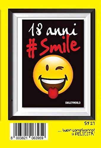 Tarjeta Felicitación cumpleaños Emoticon Emoti Keep Calm 18 ...