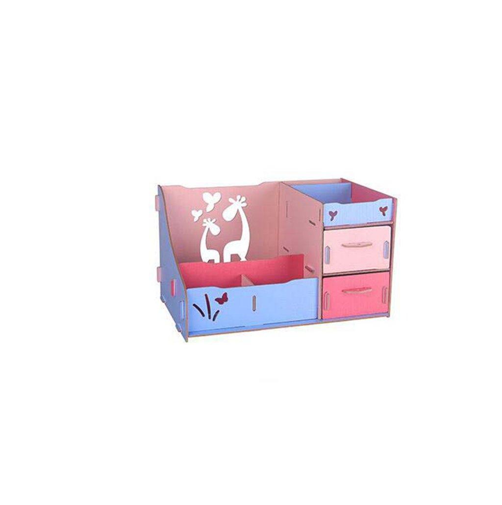 Kaxima Large Desktop Storage Box, Storage Box, Wood, Jewelry Cosmetic Storage Box, Storage Box, DIY, 30x20x17cm